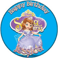 sofia the cake topper cheap princess sofia edible cake topper find princess sofia
