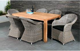 Dining Table With Rattan Chairs Dining Table With Wicker Chairs Glass Top Dining Table With Wicker