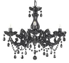 Maria Theresa 6 Light Crystal Chandelier Mini Black Chandeliers With Crystals J10 Black Mt 5p Gallery Maria