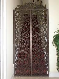 faux iron doors sgo designer glass