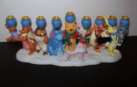 winnie the pooh menorah disney winnie the pooh and friends hanukkah menorah chanuka