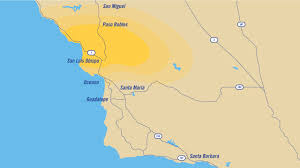 Ojai California Map Warriors Radio Network Golden State Warriors