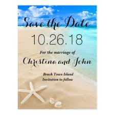 wedding invitations and save the dates destination wedding postcards zazzle