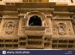 Rajasthani Home Design Plans by India Rajasthan Jaisalmer Front Of Nathmal Ki Haveli Former Prime