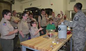 Cooking Merit Badge Worksheet Florida Scouts Converge At Aftac To Earn Nuclear Science Merit