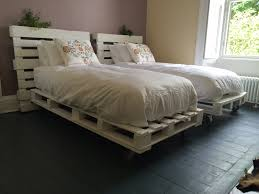 bedroom bed frame made out of pallets pallet desk making a