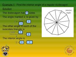 Interior Angle Sum Of A Decagon Math Unit31 Angles And Symmetry