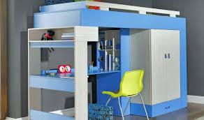 lit enfant avec bureau chambre enfant avec bureau lit combine enfant lit mi hauteur avec