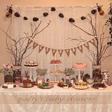 woodland baby shower ideas enchanting woodland themed baby shower decorations 67 for baby