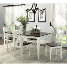 white dining table with bench gray dining room furniture antique white dining table magnolia manor