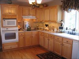 kitchen kitchen color ideas with oak cabinets light gray kitchen