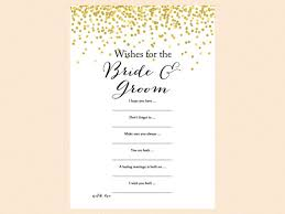 wishes for the and groom card sign wishes cards