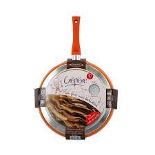durandal cuisine poêle à crêpes 30 cm en granité orange