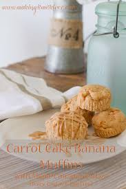 making it milk free carrot cake banana muffins with maple