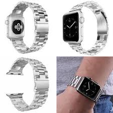 bracelet bands ebay images Silver 38mm stainless steel bracelet iwatch band for apple watch jpg