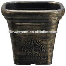 Square Plastic Planters kd4603s decorative plastic plant pots buy decorative plastic