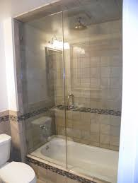 shower doors seashore glass and mirror