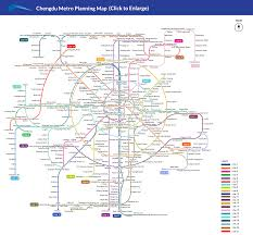 Metro Redline Map Chengdu Metro Maps Subway Lines Metro Planning Sketch