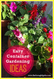 Vegetables For Container Gardening by Letter Tile Garden Markers The Farm Gabs