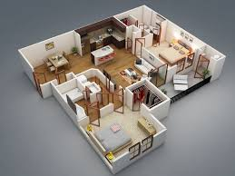 home plans with interior photos 306 best 3d floor plans images on