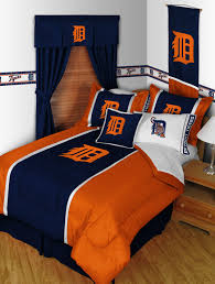 Tiger Comforter Set Mlb Professional Baseball Mvp Bedding For Kids And Teens