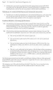authorization letter ph federal register authorizations of emergency use of in vitro start printed page 29895