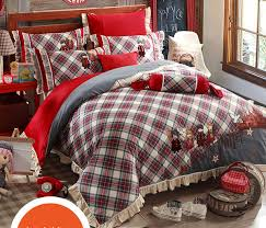 Cheap Duvet Sets Wholesale Designer Harry Potter Plaid Applique Embroidered Home