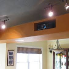 Retractable Projector Ceiling Mount by Creative Hidden Projector Installation For A Home Theater Or Man