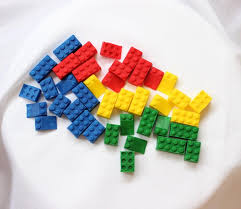 36 lego cupcake toppers assorted edible fondant cake topper boy