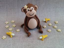 monkey cake topper best 25 fondant monkey ideas on monkey cupcakes