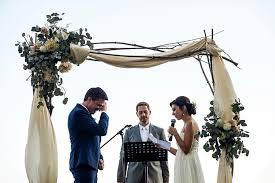 wedding arches montreal backyard davina daniel wedding photography