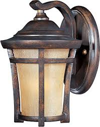 maxim lighting 40162gfco balboa vx 1 light outdoor wall lantern