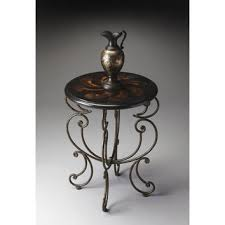 Iron Accent Table Wrought Iron Accent Table Chene Interiors