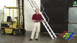 rainbow attic stair g series folding attic ladder youtube