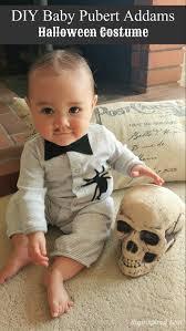 Halloween Costume Babies Diy Baby Pubert Addams Halloween Costume Diy Baby Halloween