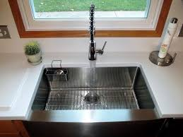 lg hi macs sinks farm apron sink undermounted with a 1 8 reveal in lg himacs solid