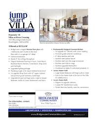 luxury villa floor plans bridgewater building two award winning luxury villa floor plans at