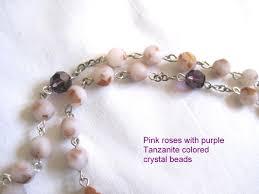 petal rosary flower petal rosary bloominbeads handmade flower and