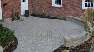 Circular Paver Patio Circular Paver Patio Home Design Ideas And Pictures