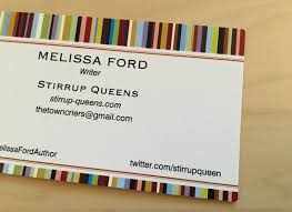 Text Your Business Card Get Ready For A Conference Order Your Business Cards Blogher