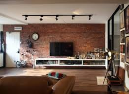 Leather Living Room Decorating Ideas by Decorating Ideas Living Room Brown Loft Industrial Design Leather