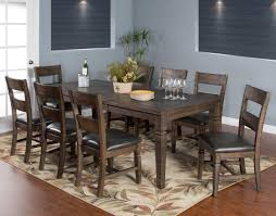 9 piece extension dining table set by sunny designs wolf and