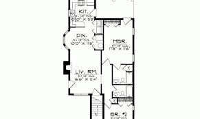 simple narrow duplex house plans placement home plans