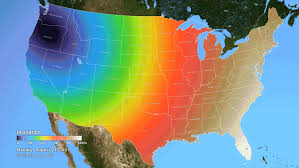 america map for eclipse navigation system earth s ionosphere during total solar eclipse nasa