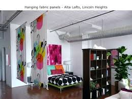 Diy Hanging Room Divider Fabric Panel Room Divider U2013 Reachz Us