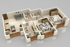 3d Plans by Foundation Dezin U0026 Decor 3d Plan Layout Furniture Placement