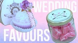 wedding favour ideas youtube