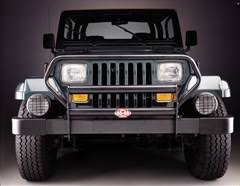 brush guard jeep all things jeep grille guard for jeep wrangler yj gloss black