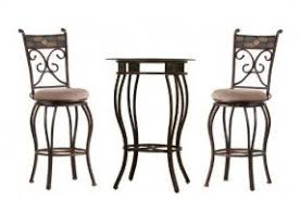 Black And Wood Chairs 2 Chair Pub Table Sets Foter