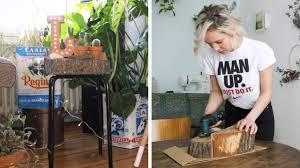 Wohnzimmertisch Baumscheibe Ikea Hack Hocker Aus Baumscheibe Diy Einfach Und Günstig